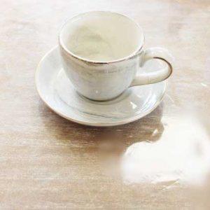 "Сет за кафе -""Мрамор"""