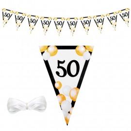 "Парти гирлянд - знаменца ""50"""