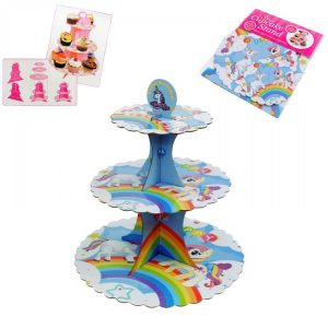 Поставка за кексчета на три нива /Пони/
