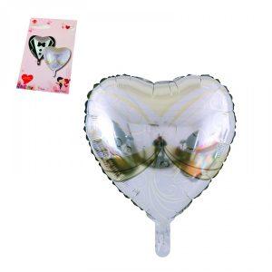 Фолиев Балон Сърце - булка