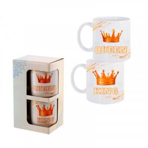 "Комплект чаши ""Queen & King"""