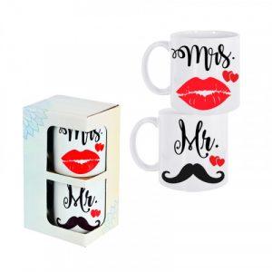"Комплект чаши ""Mr & Mrs"""