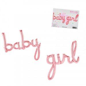 Фолиев балон baby girl