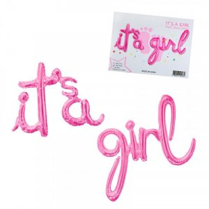 Фолиев балон It's a girl