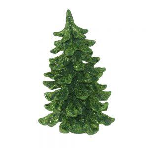 Коледно дърво с брокат