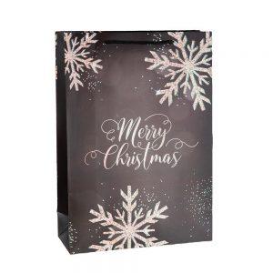 Коледна торбичка за подаръци /27498/