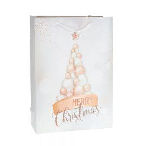 Коледна торбичка за подаръци /27485/