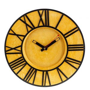 Стенен часовник с римски цифри /27646/