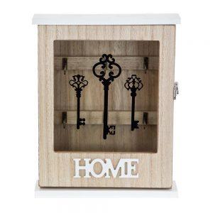 Кутия за ключове с надпис Home