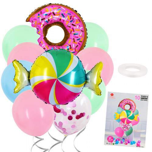 Комплект  балони 10 броя/28131/