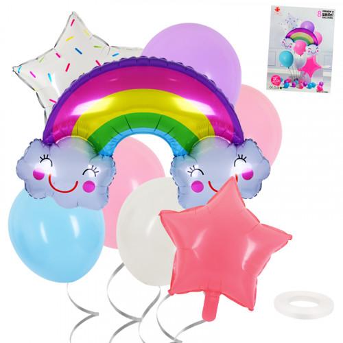Комплект фолиеви  балони 8 броя/28137/