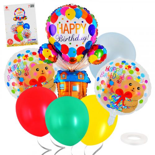 Комплект  балони 7 броя/28125/