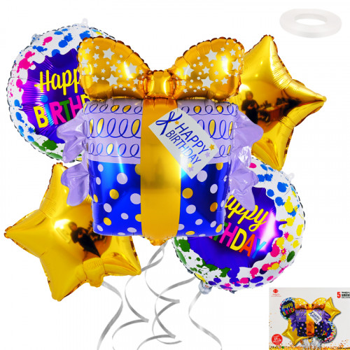 Комплект фолиеви балони 5бр./28121/