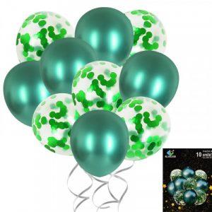 Балони  10бр. / 5 латекс + 5 лъскави елементи/28119/