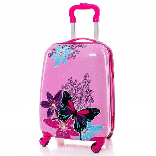 Детски куфар Пеперуди